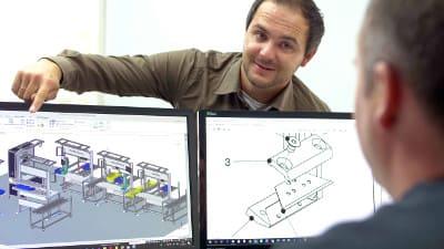 3D Konstruktion Maschinenbau