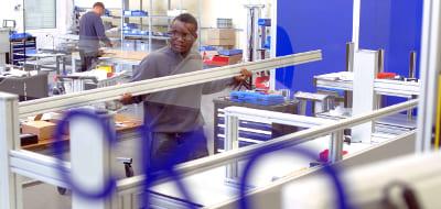 Montage Maschinenbau