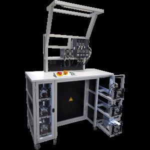 Motorenprüfstand für Servosteuerungen und Servomotoren