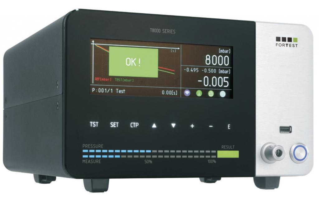 ForTest T-8090 Dichtheitsprüfgerät Dual Absolute