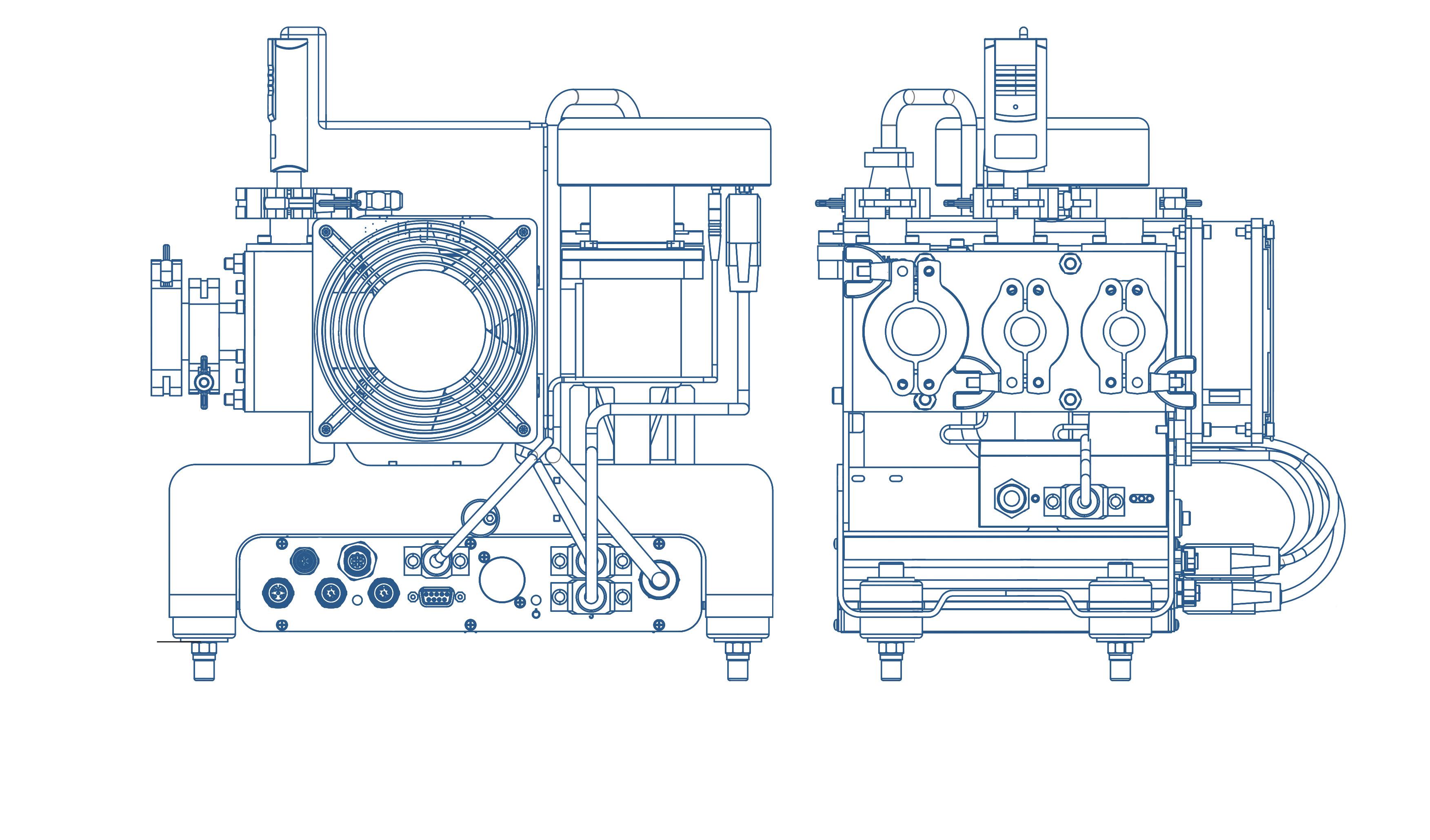 Zeichnung- INFICON LDS3000