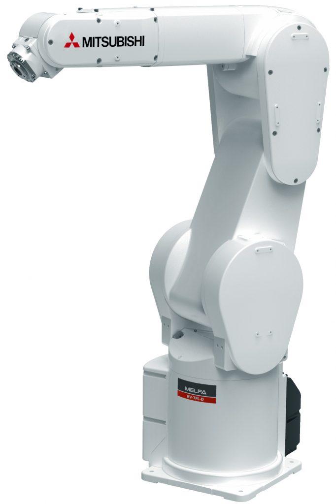 Industrieroboter von Mitsubishi Electric im Maschinenbau