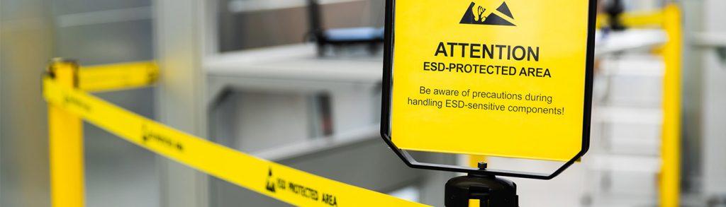 ESD-Schutzmaßnahmen für Lean Production Arbeitsplätze von CKO