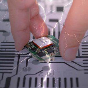 Schutz vor eletrostatischer Entladung