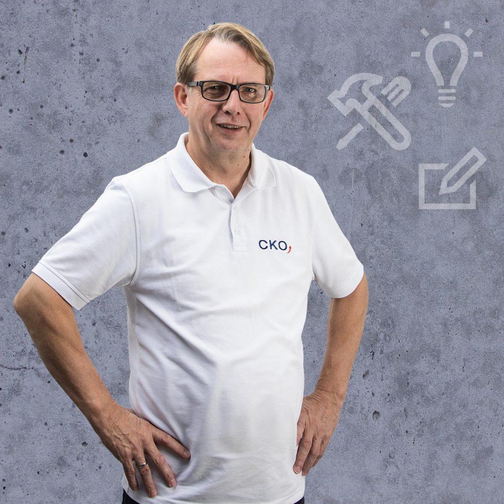 Geschäftsführer Joachim Kaldasch von CKO Maschinen- und Systemtechnikunternehmen