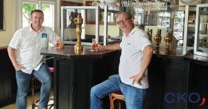 Hygieneschutzwände von CKO aus Echtglas in Restaurants und Gaststätten