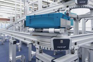 Transportssystem, Werkstückträgersystem von montratec