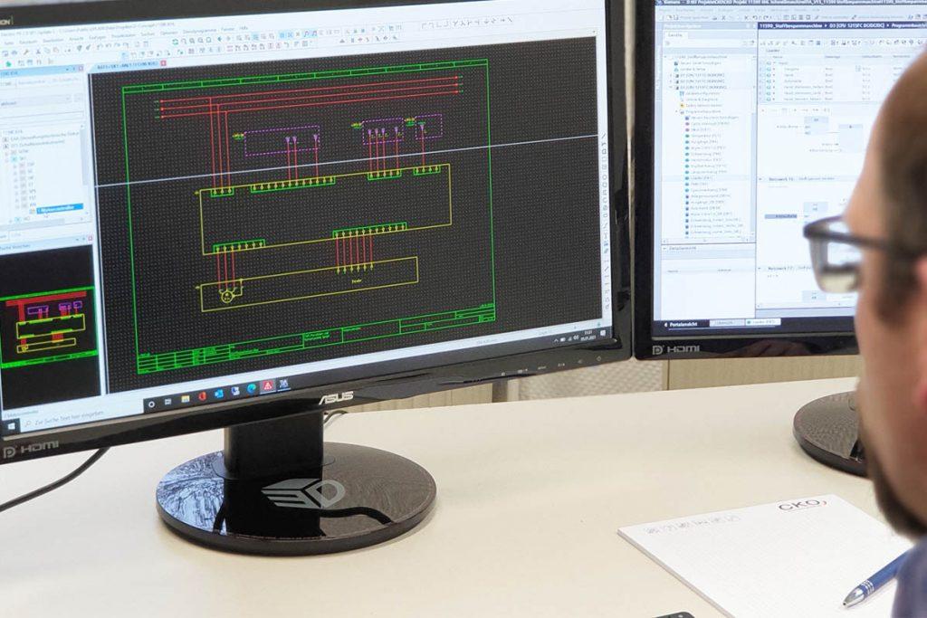 Sondermaschinenbau NRW – IT-Spezialisten von CKO für EPLAN, SPS, LabVIEW