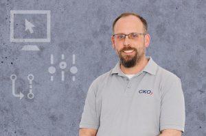 Mitarbeiter der CKO Maschinen- und Systemtechnik GmbH